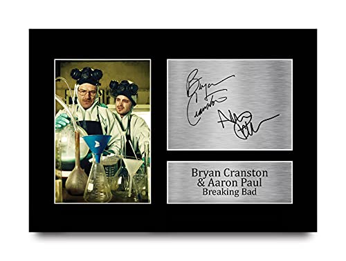 HWC Trading Bryan Cranston Aaron Paul A4...