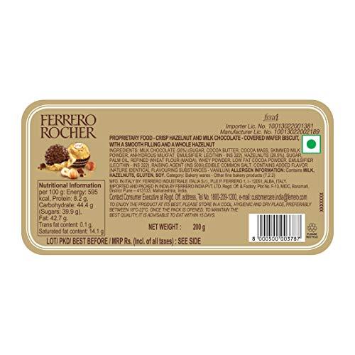 Ferrero Rocher, 16 Pieces, 200 gm 4
