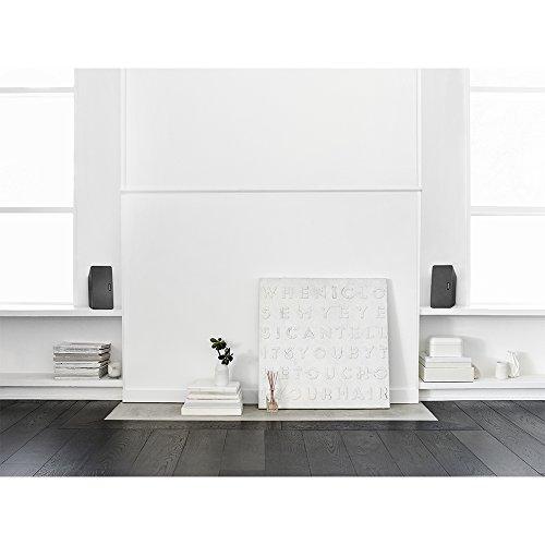 Sonos PLAY:3 I Vielseitiger Multiroom Smart Speaker für Wireless Music Streaming (schwarz) - 8