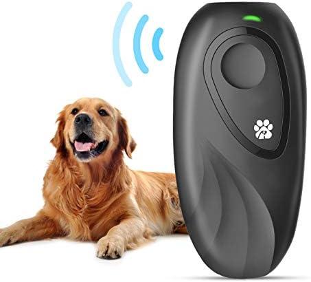 JZORI Anti Barking Control Device 2 in 1 Ultrasonic Dog Bark Deterrent Dog Training Aid 16 4 product image