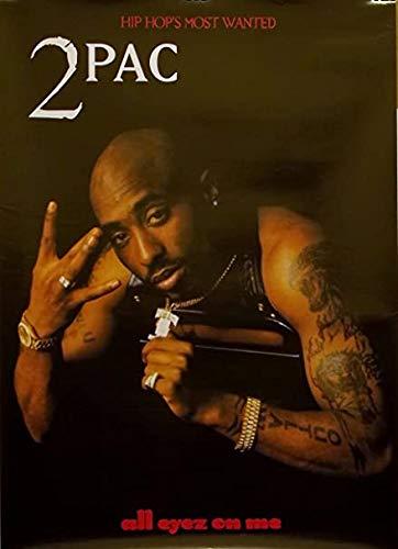by burning desire Poster da masterizzazione del Desiderio Tupac all Eyez on Me, 30,5 x 45,7 cm