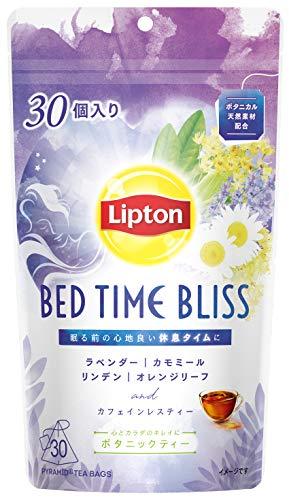 【Amazon.co.jp限定】 リプトン ボタニックティー ベッドタイムブリスティーバッグ 30袋