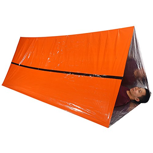Disaster Prevention Ponchos Thermische Waterdichte Deken Noodhulp Rescue Shelter Opvouwbare Militaire Overlevingstent