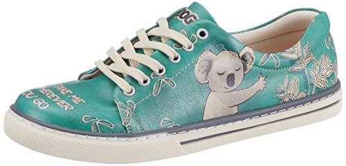 DOGO Sneaker Koala Hug türkisgrün EU 39