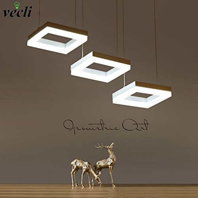 Mode rechteckigen ring pendelleuchte, led esszimmer suspendu lampe, restaurant wohnzimmer lange schnur hngen licht kronleuchter Gre  L600  W160  H1200mm (hoch einstellbar), schwarz, warmwei