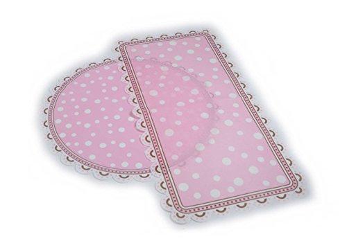 Kaiser Tortenspitzen Tortenpapier Set in rund Ø 28 cm und rechteckig 40 x 20cm