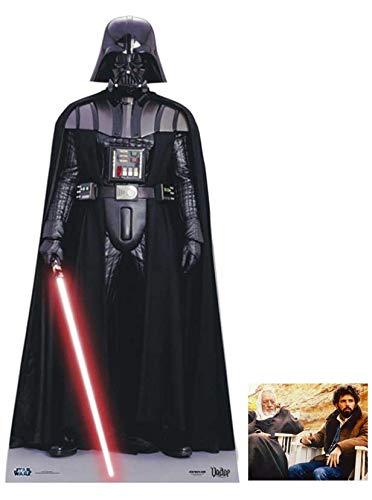 Unbekannt Darth Vader Lebensgrosse Pappfiguren/Stehplatzinhaber/Aufsteller ENTHÄLT 8x10 (25x20cm) STARFOTO