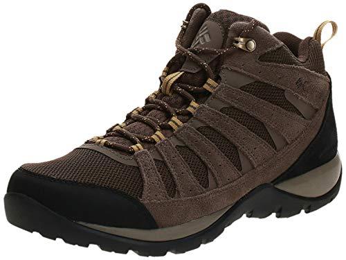Columbia Redmond V2 Mid, Zapatillas de Senderismo Impermeables Mujer, Marrón (Cordovan, Baker), 43 EU