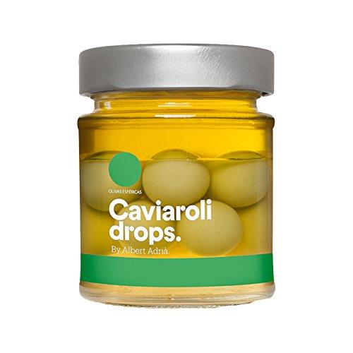 Caviaroli - Caviaroli Drops '12 Aceitunas verdes esferificadas' - 170 gramos