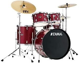 Tama Imperialstar Complete Drum Set - 5-Piece - 22 Inches Kick - Candy Apple Mist