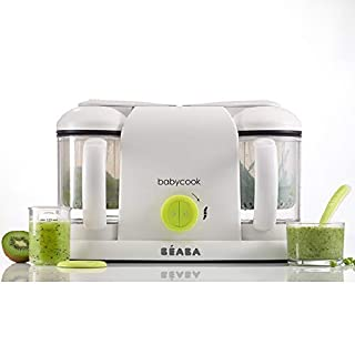 Béaba - Babycook Duo - Baby Food Maker 4 in 1 : Food Procesor, Blender and Cooker - Soft Steamer Cooking - Homemade Baby Food in 15 Minutes - XXL : 2 x 1100ml Capacity - Made in France - Neon (B01B4PA464) | Amazon price tracker / tracking, Amazon price history charts, Amazon price watches, Amazon price drop alerts