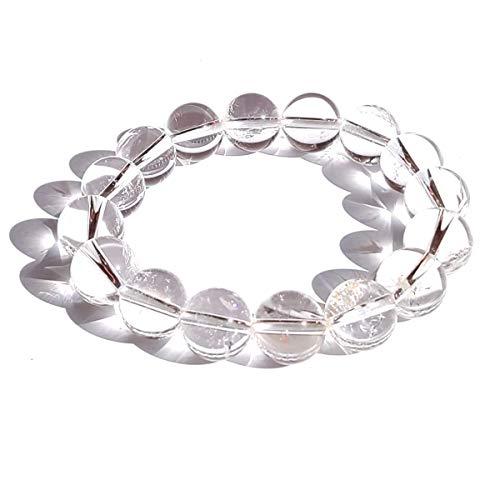 AAAA級 ヒマラヤ 水晶 ブレスレット 12mm(S(腕周り約14cm)) [天然石/Womanブレス/レディース/風水]