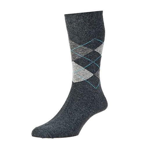 HDUK Mens Socks Herren Socken 39-45 Gr. 39-45, Charcoal Marl