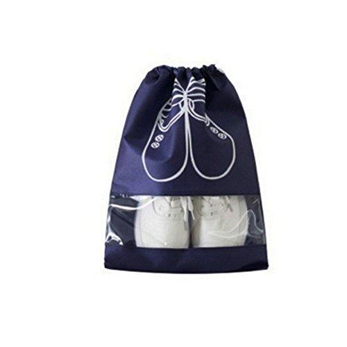 Merssavo Grand sac de stockage de chaussures de voyage de sac à main de voyage de haut talon portatif / bouche de faisceau