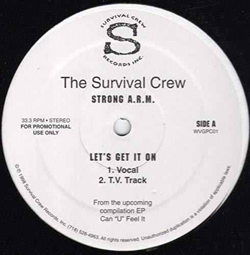 Can 'U' Feel It / Let's Get It On [Vinyl Single 12'']