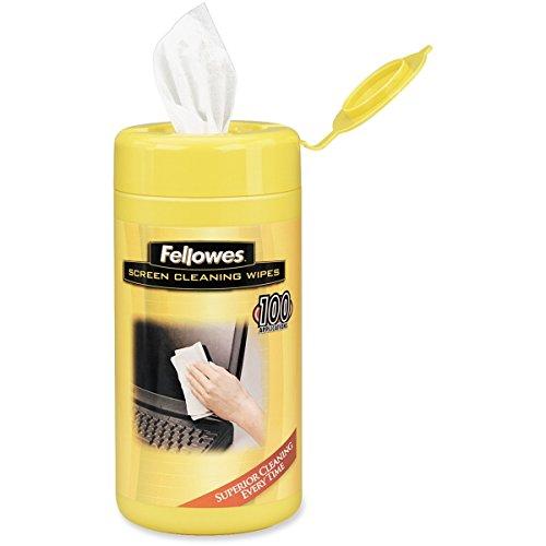 99703 Fellowes44; Inc. Fellowes toallitas de limpieza de pantalla quitan con seguridad el polvo 44; Dirt44; y huellas dactilares de G
