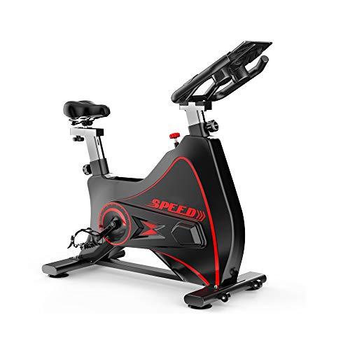 XJWWW-URG La Correa de transmisión de Bicicleta de Ejercicios/Monitor LCD for el hogar Cardio Entrenamiento de la Gimnasia de Interior Ciclismo Bicicleta estacionaria URG (Color : Negro)