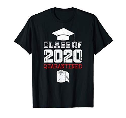 Class of 2020 Senior Quarantine Funny Distance Toilet Paper T-Shirt