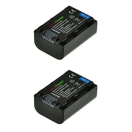 ChiliPower 2-Pack NP-FV50, NP-FV30, NP-FV40 (950mAh) Batería para Sony DCR-SR15, SR21, SR68,...