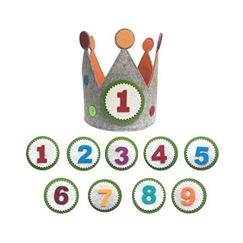 Clan Toys Krone für Geburtstage oder Kinderpartys 9 (umkreisen)
