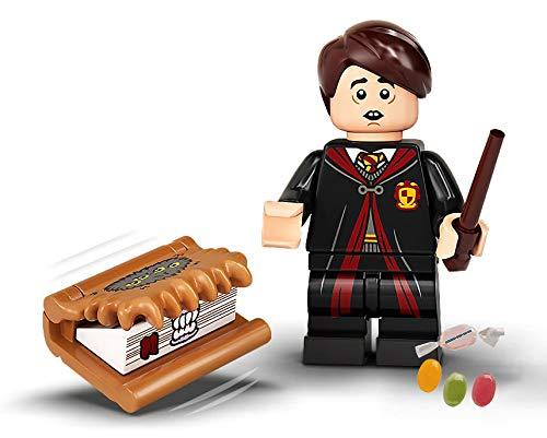Lego® 71028 Harry Potter™ Minifiguren Figur 16 Neville Longbottom zusätzlich 1 x Sticker-und-co Fruchtmix Bonbon