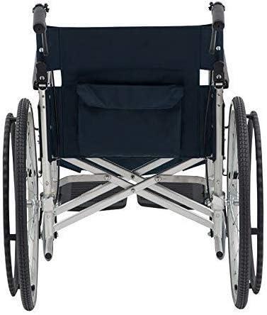 JKCKHA Aluminium Wheelchair-Self Propel Max 90% Arlington Mall OFF Han with Wheelchair Rear