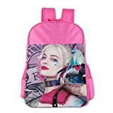 GDHGD Kids/Youth School Backpack Har-Ley Qu-Inn Children's Travel Daypack For Boys/Girls/Women/Men