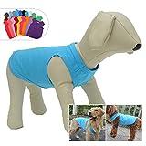 longlongpet 2019 - Costume per cucciolo di cane, maglietta per cani di taglia grande, media e piccola, 100% cotone, 18 colori