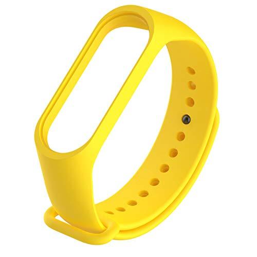 Pulseira avulsa amarela para mi band 3 ou 4