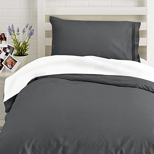 Where The Polka Dots Roam Twin Red Microfiber Duvet Cover Set with 2 Pillowcases. Twin Size Duvet Cover : 68