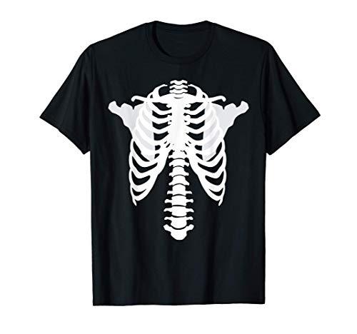 Esqueleto de rayos X aterrador Nuevo disfraz de Halloween Camiseta