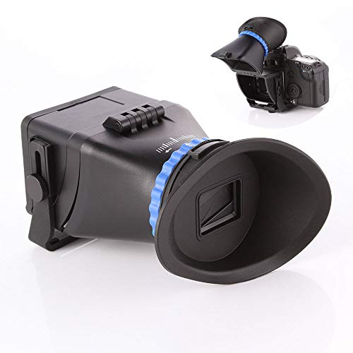 Runshuangyu Universal Camera Viewfinder, 3.0 x Magnification for 3-inch and 3.2-inch Screen with LCD...