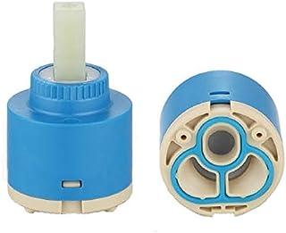 ownace 35mm/40mm de disco de cerámica de baño de plástico Cuenca grifo mezclador monomando de ducha cartucho de interior, cerámica, 40 mm.