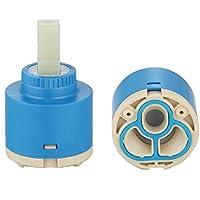 Ownace - Cartucho interior de plástico con disco de cerámica de 35mm/40mm para grifo monomando de baño, lavabo, ducha, cerámica, 40 mm.