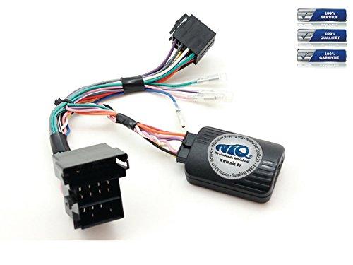 NIQ CAN-BUS Lenkradfernbedienungsadapter geeignet für KENWOOD Autoradios, kompatibel mit Alfa Romeo 159 / Brera / Spider