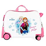 Disney Frozen Dream of Magic Maleta Infantil Multicolor 50x38x20 cms Rígida ABS Cierre combinación 34L 2,1Kgs 4 Ruedas Equipaje de Mano