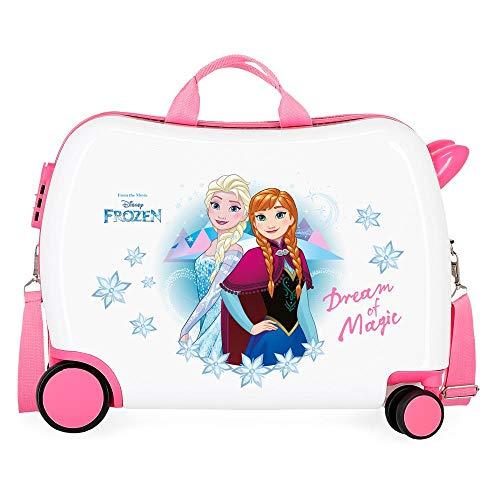 Disney Frozen Die Eiskönigin Dream of Magic Kinder-Koffer Mehrfarbig 50x38x20 cms Hartschalen ABS Kombinationsschloss 34L 2,1Kgs 4 Räder Handgepäck
