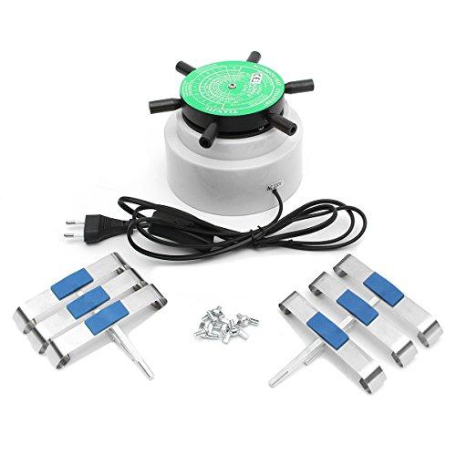 ExcLent 220V Reloj Automático Winder Izquierda Rotación Derecha Reloj Herramienta De Reparación Para 6 Relojes