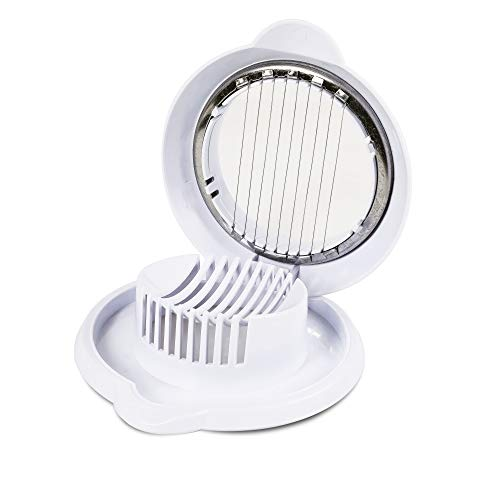 Commercial Chef Egg Slicer for Hard Boiled Eggs, Mushrooms, Strawberries, and Other Foods