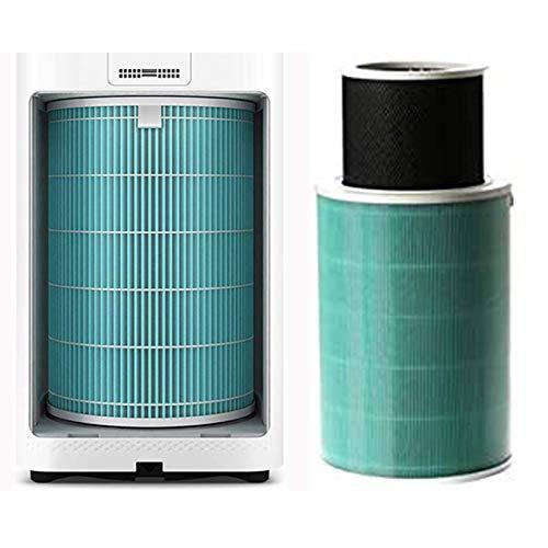 Popular Purificador de aire anti-formaldehído filtro Reemplazo de filtro HEPA FIT PARA XIAOMI1 / 2 / 2S / 3/3H Filtro HEPA Purifier Anti PM2.5 Formaldehyde durable ( Color : Anti dust Cotton 10 )