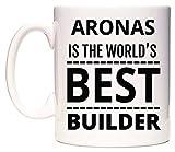 ARONAS Is The World's BEST Builder Tazza di WeDoMugs®