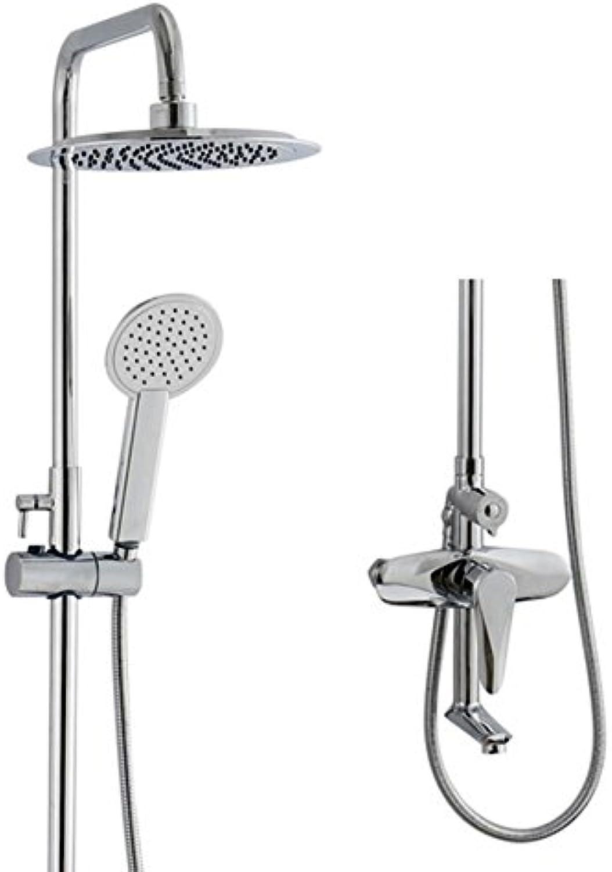 YLG Brausen- Und Duschsysteme, Rundschreiben Duschset, Heie Und Kalte Regulierung, DREI Funktionen, Hhenverstellbar, Verchromung