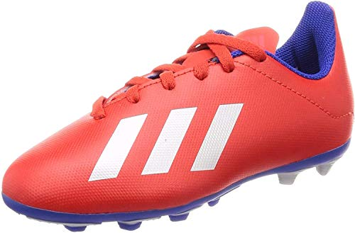 adidas Buty piłkarskie uniseks dla dzieci X 18,4 Fxg J, Multicolour Multicolor 000-35.5 EU