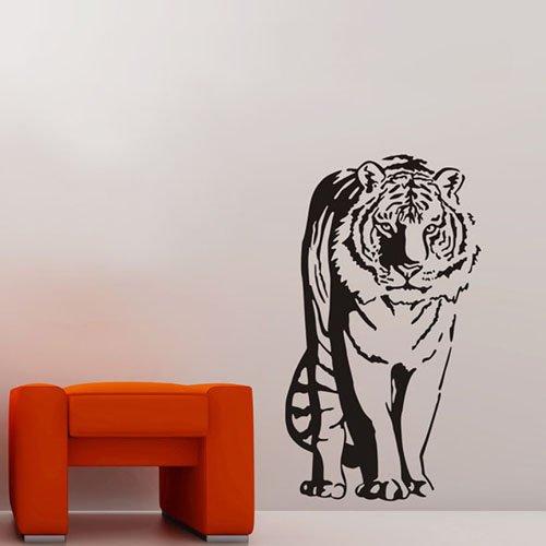 sticker da muro Adesivi Decorativi?23.6 ' x 39.3 ' Tiger decorazione animale della parete Art Decor rimovibile moda StickeAdesivi pareti