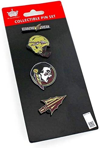 aminco NCAA Shipping included unisex-adult Team Pride Set Pin 4 Max 44% OFF