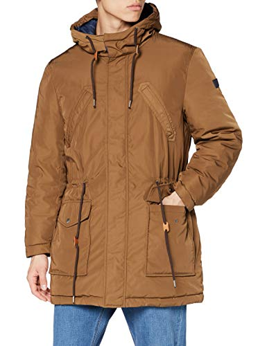 Pepe Jeans Spencer Impermeable, Marrón (887), Large para Hombre