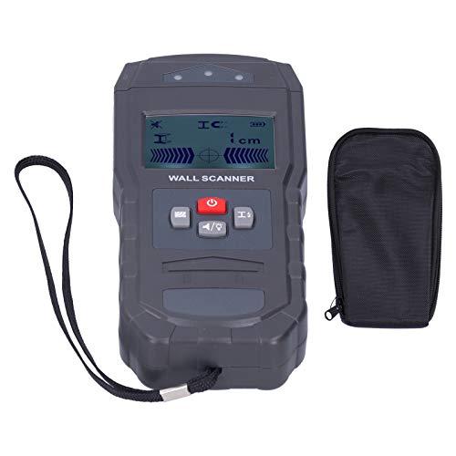 Escáner de pared LCD WT55, Detector de pared de ABS, buscador de pernos con retroiluminación automática, equipo eléctrico para cable de madera, metal