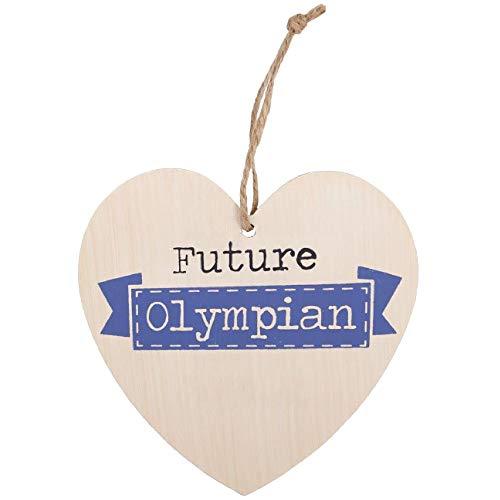 Something Different Herz zum Aufhängen mit Aufschrift Future Olympian (Einheitsgröße) (Bunt)