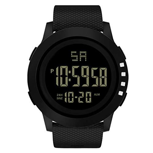 Cloodut Reloj de Pulsera analógico Digital con LED de Deporte Militar, Resistente al Agua, Reloj de Negocios para Hombre, Reloj, Reloj Promocional