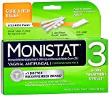 Monistat 3 Vaginal Antifungal Combination Pack - 3 Each, Pack of 5